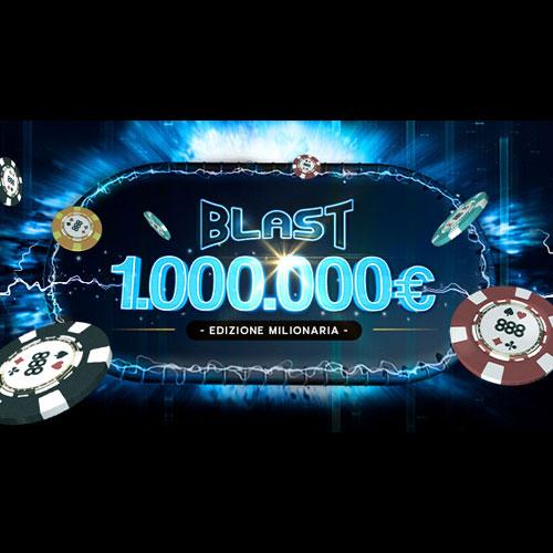 sit & go blast da 1000000 euro su 888 poker