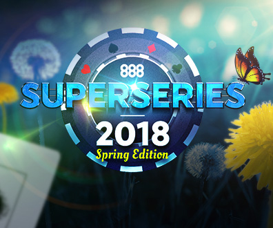 888 super series poker spring edition