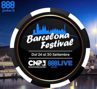 Tornei satellite per 888 live festival di Barcellona